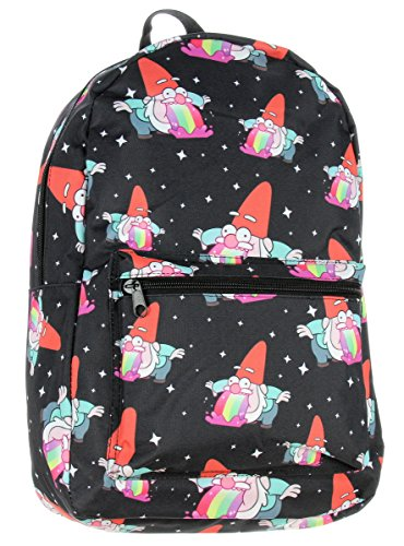Rainbow Barfing Gnome Gravity Falls Backpack