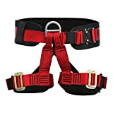Fusion Climb Apollo II Military Tactical Padded Half Body Adjustable Zipline Harness 23kN M/L Red