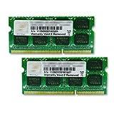 G.Skill F3-1600C10D-16GSQ 16GB (2x8GB) DDR3-1600MHz SODIMM Laptop RAM Memory