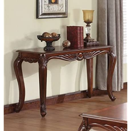 Acme 10242 Birmingham Sofa Table Cherry Finish