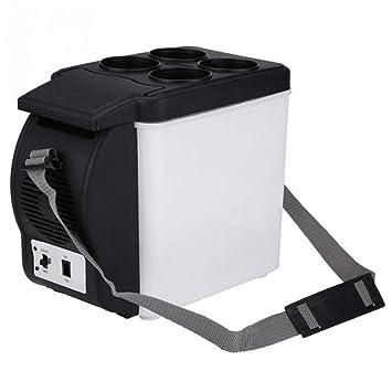 SMEARTHYB 6L 12 V Capacidad del Refrigerador del Coche Portátil Mini Refrigerador del Coche Enfriador Eléctrico