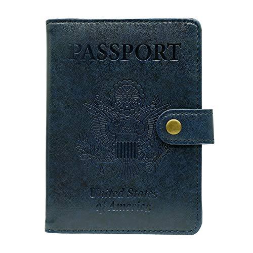 Passport Holder Wallet Blocking Leather