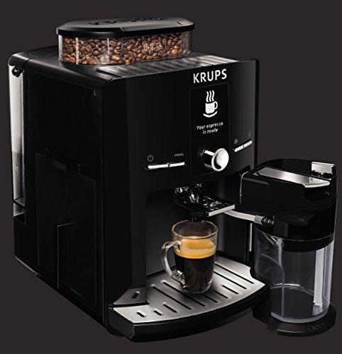 krups ea8250 espresseria super automatic espresso machine coffee maker with built in conical. Black Bedroom Furniture Sets. Home Design Ideas