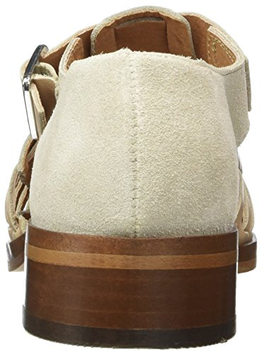 SELECTED FEMME Sfaia Braided Shoe, Mocasines para Mujer Beige (Nude)