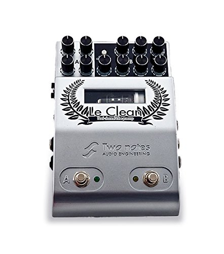Two Notes Le Clean 2-channel U.S. Tones Tube Preamp Pedal