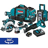 Makita Xt704 Lithium Ion Cordless 7 Pc Basic Info