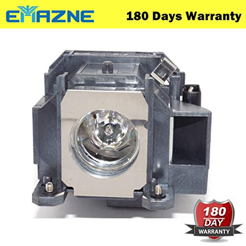(Emazne ELPLP40/V13H010L40 Projector Replacement Compatible Lamp With Housing For Epson EMP 1810 Epson EMP 1810P Epson EMP 1815 Epson EMP 1815P Epson EMP 1825 Epson Powerlite 1810 Epson Powerlite 1810P)