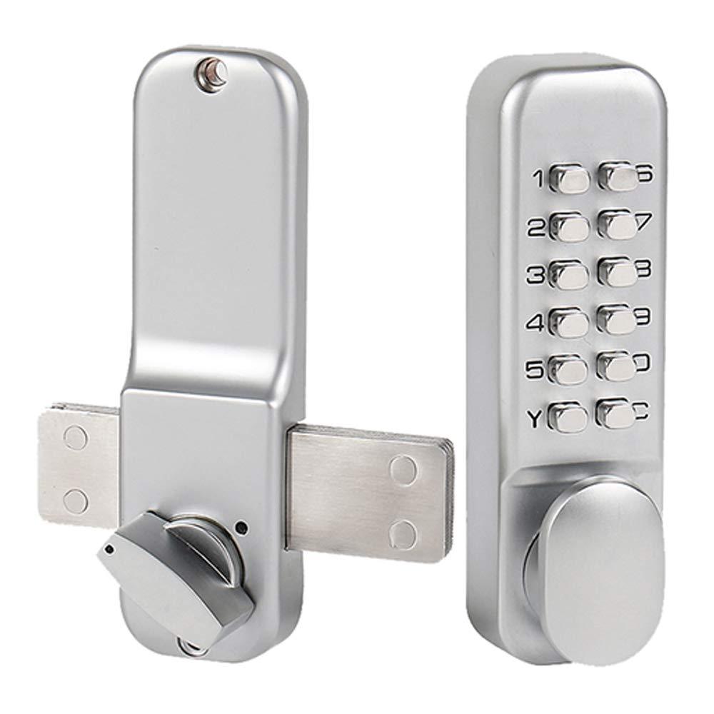 GAOPIN Combination Locks - Digital Password Door Lock Mechanical All Weather Waterproof Door Lock Zinc Alloy