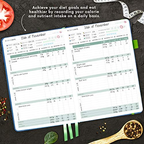 Clever Fox Food Journal - Daily Food Diary, Meal Planner to Track Calorie and Nutrient Intake, Stick to a Healthy Diet & Achieve Weight Loss Goals 5