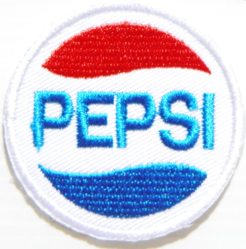 Homemade Tin Man Costumes (Pepsi Soft Drink Logo Symbol Jacket T-shirt Patch Sew Iron on Embroidered Sign Badge Costume Clothing)