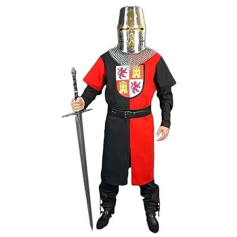 Traje medieval hombre Heráldica: Amazon.es: Juguetes y juegos