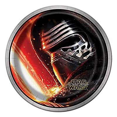 Unique Star Wars The Force Awakens Dessert Party Plates, 8 Ct.: Toys & Games