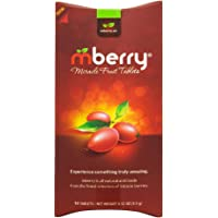 mberry Miracle Berry Tablets, Miracle Fruit Snacks, 10 Count, .12 Ounce, Pack of 1