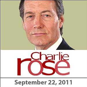 Charlie Rose: Saeb Erakat, Ron Prosor, and Mort Zuckerman, September 22, 2011 Radio/TV Program