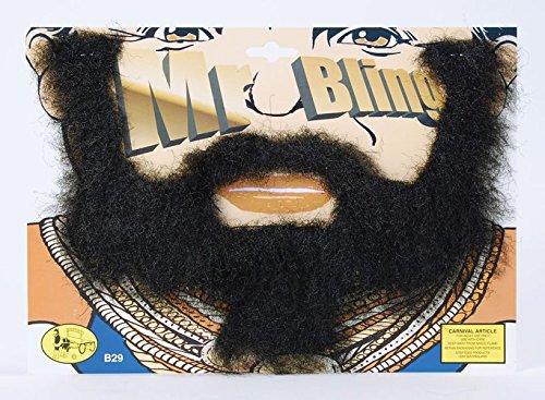 [Mr T Beard A Team Fancy Dress] (Mr T Costumes)