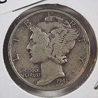 1941 S Mercury Dime Silver Dimes Ungraded