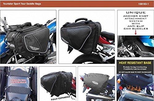 Motorcycle Saddlebag |''Tourister'' Saddle Bag by GEARS