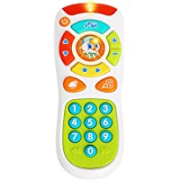 Vatos Baby Remote Control Toy Learning Lights Remote for Baby
