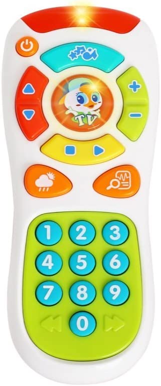 Baby Educational Toy TV Remote Kids Boys Girls Learning Electronic Toys Gift