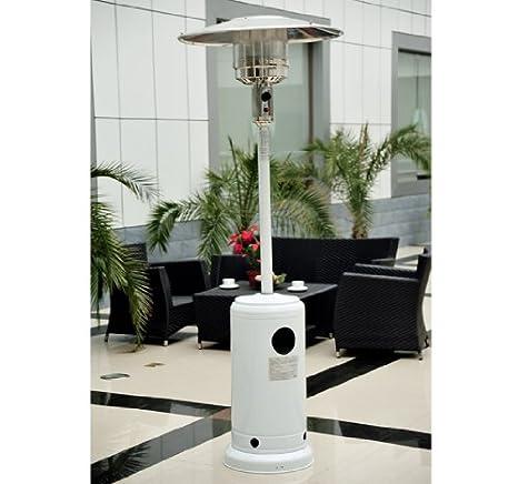 Outsunny Radiador Estufa Calentador de Patio 5-12KW a Gas Plancha de Acero INOX Nuevo: Amazon.es: Hogar