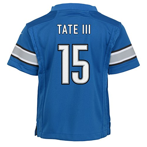 Outerstuff Golden Tate Detroit Lions Nike Home Blue Jersey Boys (S-L)