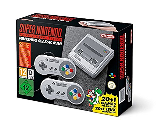 SNES Nintendo Classic Mini: Super Nintendo Entertainment System (Europe), Not Region Locked from Nintendo