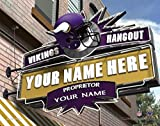 Photo File Hangout Minnesota Vikings Unframed Poster 14x11 Inches