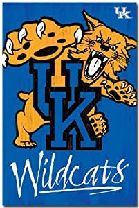 "Amazon.com: University of Kentucky Wildcats Logo 22""x34"