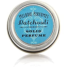 Patchouli essential oil perfume solid. Natural fragrance aromatherapy essential oil perfume, vegan by Melodie Perfumes. Hippie, Boho, Sexy perfume.
