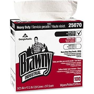 Heavy-duty tienda toallas, 9 1/8 x 16 1/2, 100/caja, 5 cajas/caja: Amazon.es: Hogar