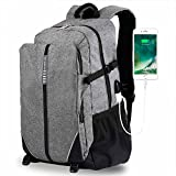 "XIXOV Laptop Backpack, Travel Computer Bag for Women Men, Business Backpack with USB Charging Port Fit Under 17"" Laptop Notebook"