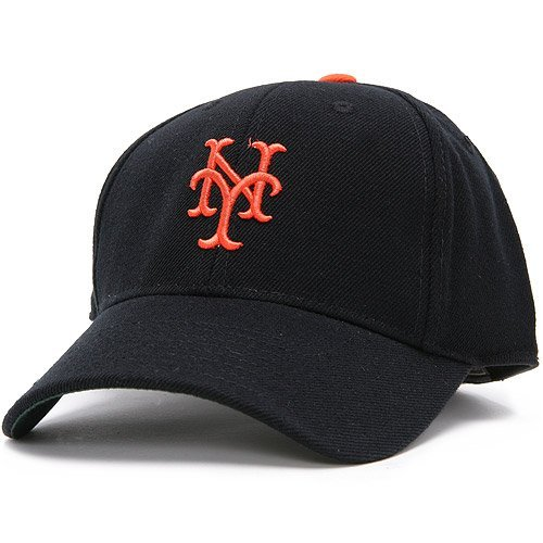 - American Needle New York Giants Mets 1949 MLB Cooperstown Collection Fitted Cap (6 7/8)