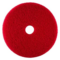 20 Red Buffing Pads Case of 5