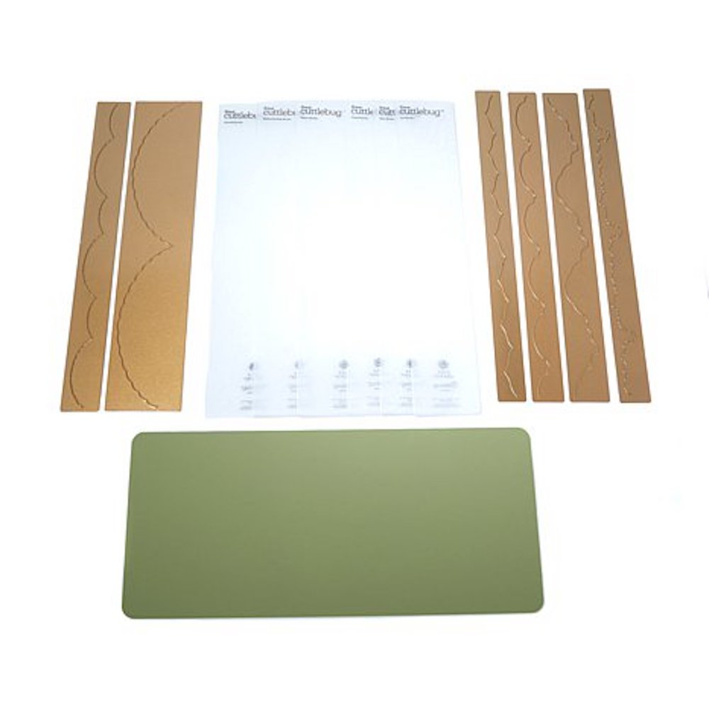 Anna Griffin Cuttlebug Embossing Folders & Dies - Beautiful Trimmings