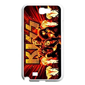 High quality Kiss band,rock music band series protective case cover For Samsung Galaxy Note 2 Case SB4563900
