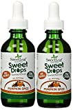 SweetLeaf Sweet Drops Liquid Stevia Sweetener, Pumpkin Spice 2 Oz (Pack of 2)