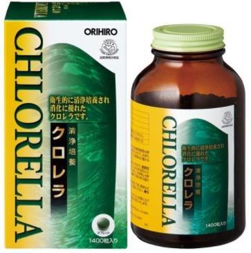 オリヒロ 清浄培養クロレラ  1400粒(280g) 12個 B07B9XJ7HD