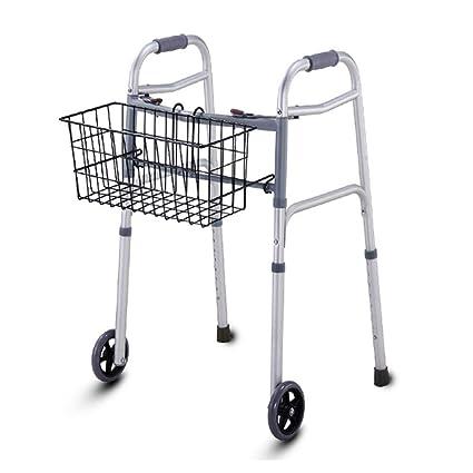 Walker ligero Walker Roller Plegable de 2 ruedas Aleación de ...