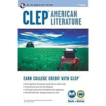 CLEP® American Literature Book + Online (College Placement Test Preparation)