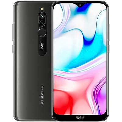 """Xiaomi Redmi 8 Smartphone, 3GB 32GB Mobilephone,6,22""""Pantalla Snapdragon 439 10W de Carga Rápida 5000mah de la Batería del Teléfono Móvil 12MP Cámara Dual,Versión Global (Negro)"""