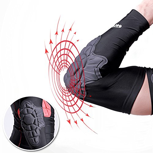 Compression Basketball Pad Protector Gear Shooting Hand Arm Elbow Sleeve Adult