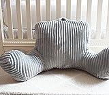 DormCo Hug Me Bedrest - Glacier Gray