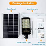 300W LED Solar Street Lights Outdoor Lamp, Dusk to