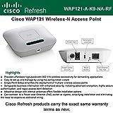 Cisco WAP121 Refresh Wireless-N AP 300Mbps 11b/g/n PoE internal antenna