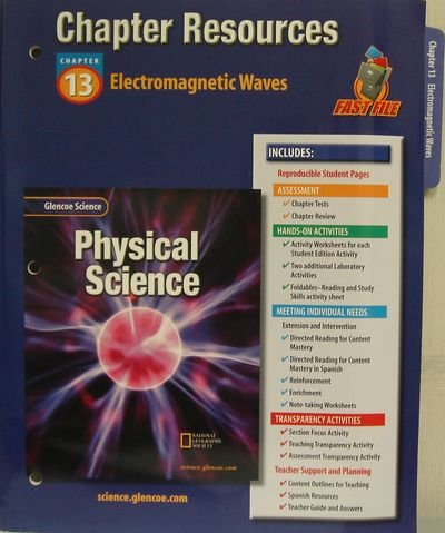 Glencoe Science: Physical Science- Chapter Resources, Chapter 13 ...