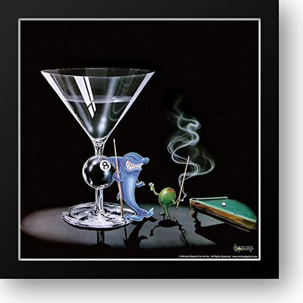 Rat Pack Michael Godard Martini Art Print 12x12
