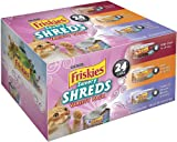 Friskies Savory Shreds Cat Food Variety Pack, 8.25-Pound, My Pet Supplies
