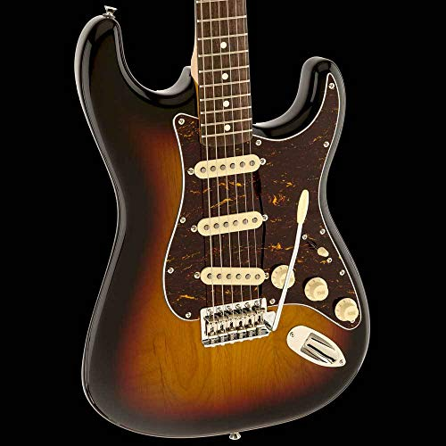 Squier by Fender 303010500 Classic Vibe 60's Stratocaster Electric Guitar – 3-Color Sunburst – Rosewood Fingerboard