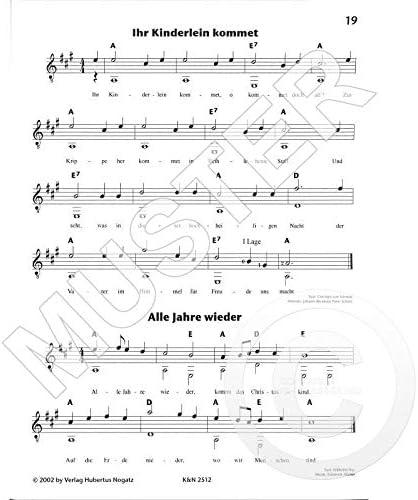 Hubertus Nogatz KN2512 4051355890170 - Lote de 33 canciones ...