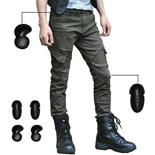 Green Motorcycle Pants - 7